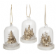 Christmas Scene Snow Dome Tree Decoration. Available in 3 Designs. 274615